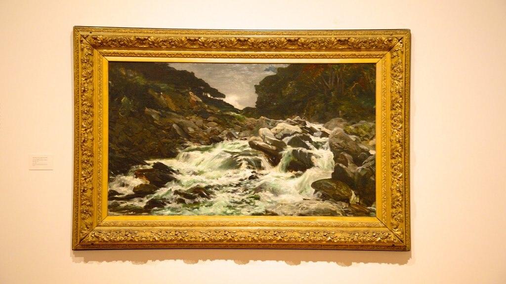Dunedin Public Art Gallery ofreciendo arte