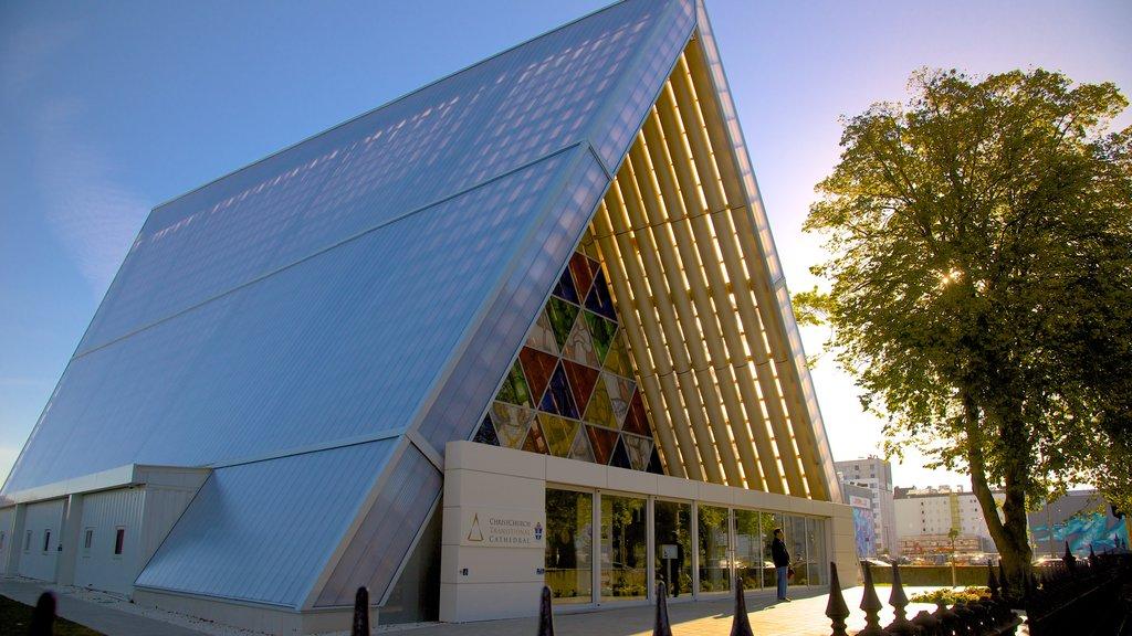 Christchurch ofreciendo una iglesia o catedral