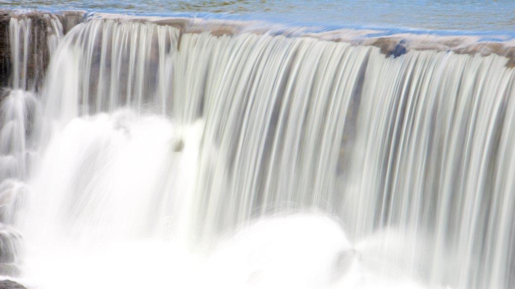 Yate showing a waterfall