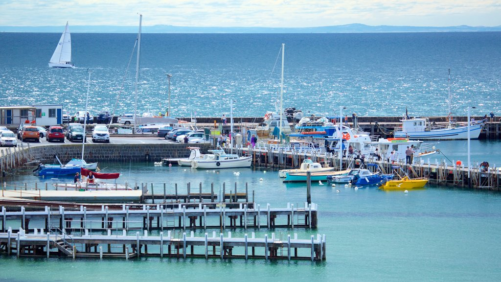 Mornington which includes sailing, boating and a marina