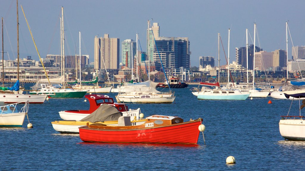 Williamstown which includes a marina, boating and sailing