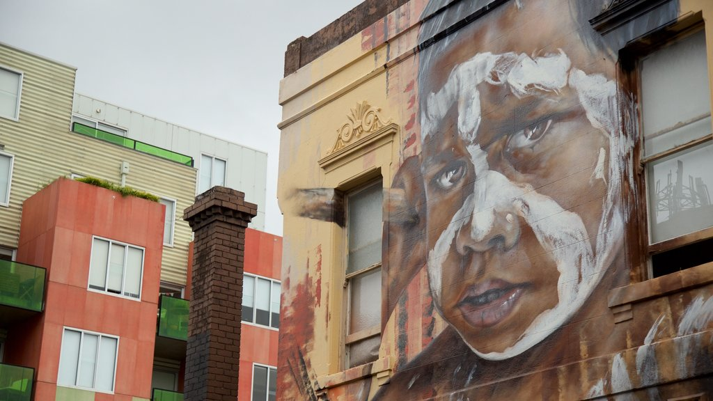 Fitzroy showing outdoor art