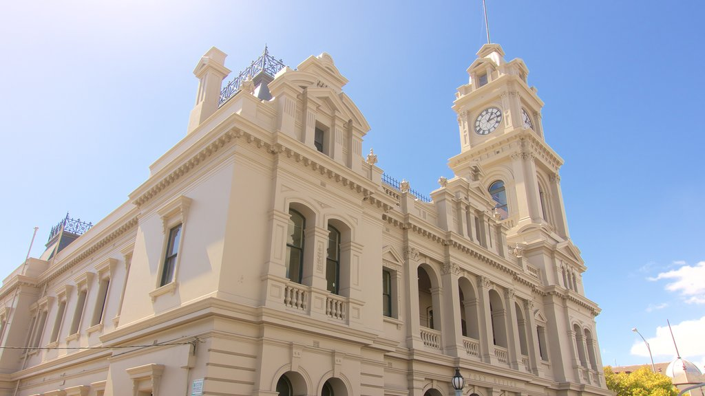 Geelong featuring heritage elements and heritage architecture