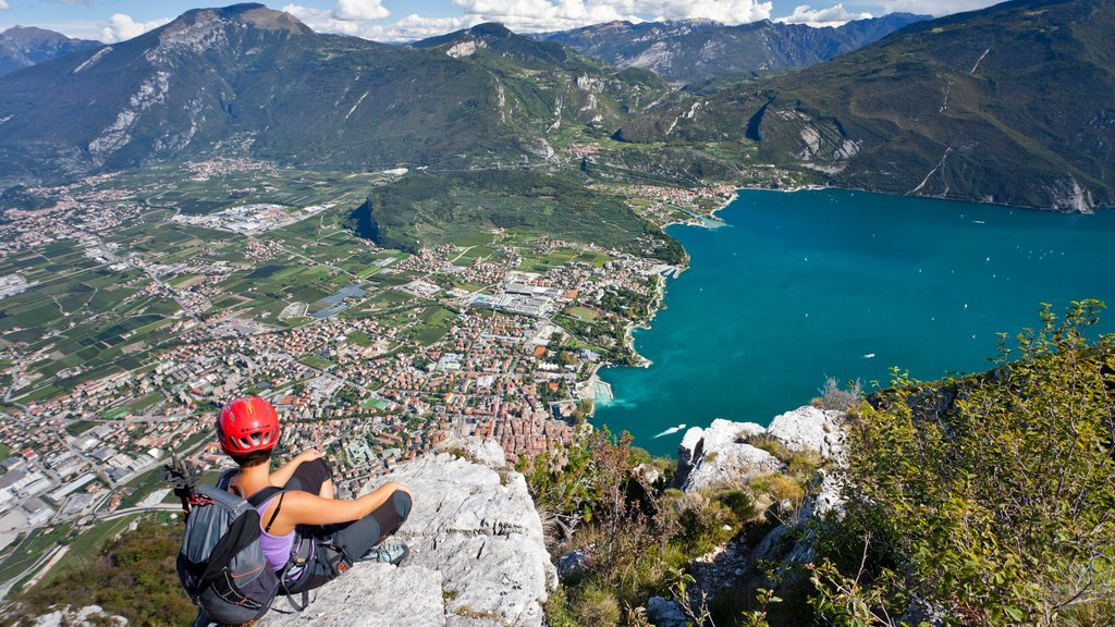 Trento featuring mountains, landscape views and hiking or walking