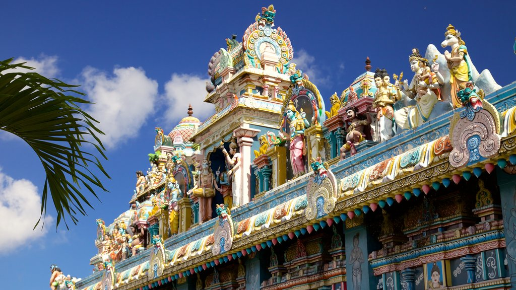 Grand Bay which includes religious aspects and a temple or place of worship