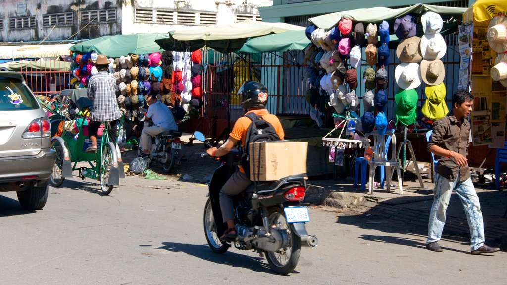Kandal Market which includes street scenes and markets