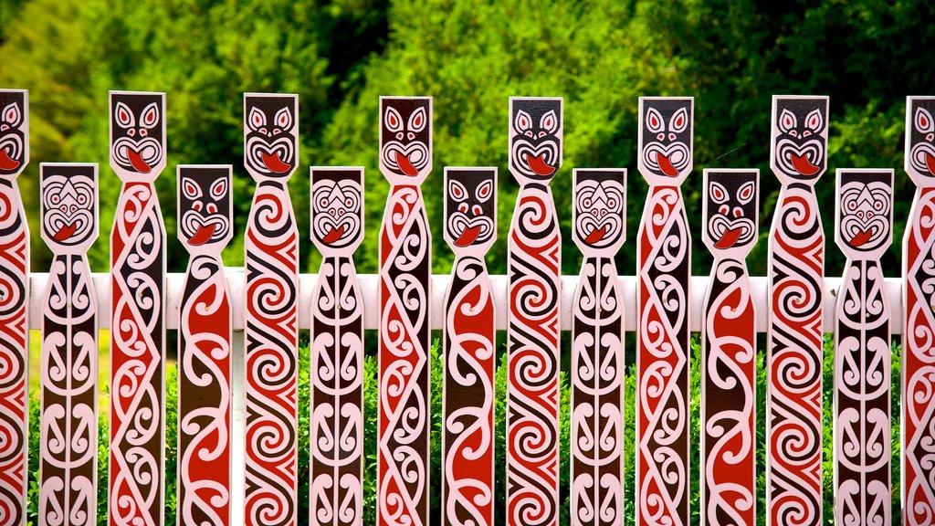 Government Gardens mostrando arte