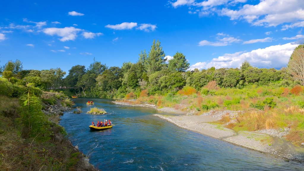 Turangi featuring rafting and a river or creek