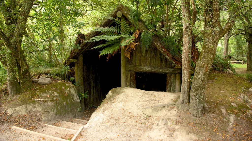 Buried Village featuring heritage elements and a garden