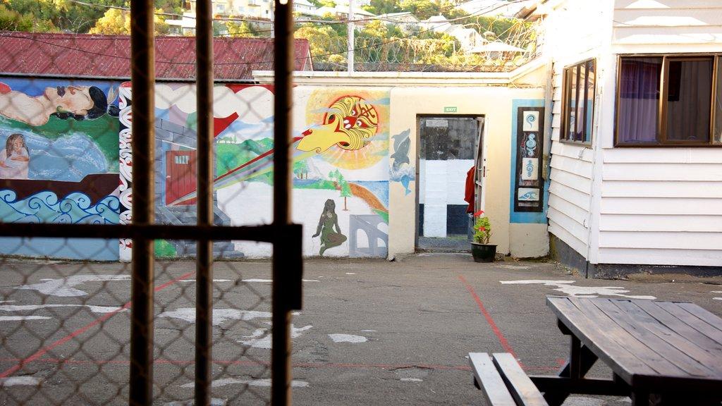 Napier Prison ofreciendo elementos del patrimonio