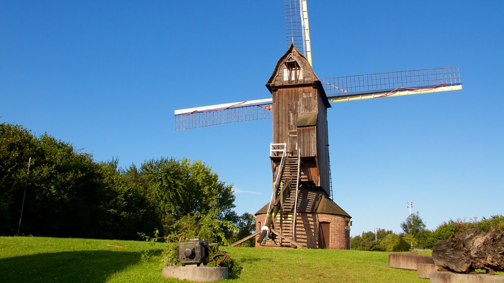 Villeneuve-d\'Ascq featuring a windmill
