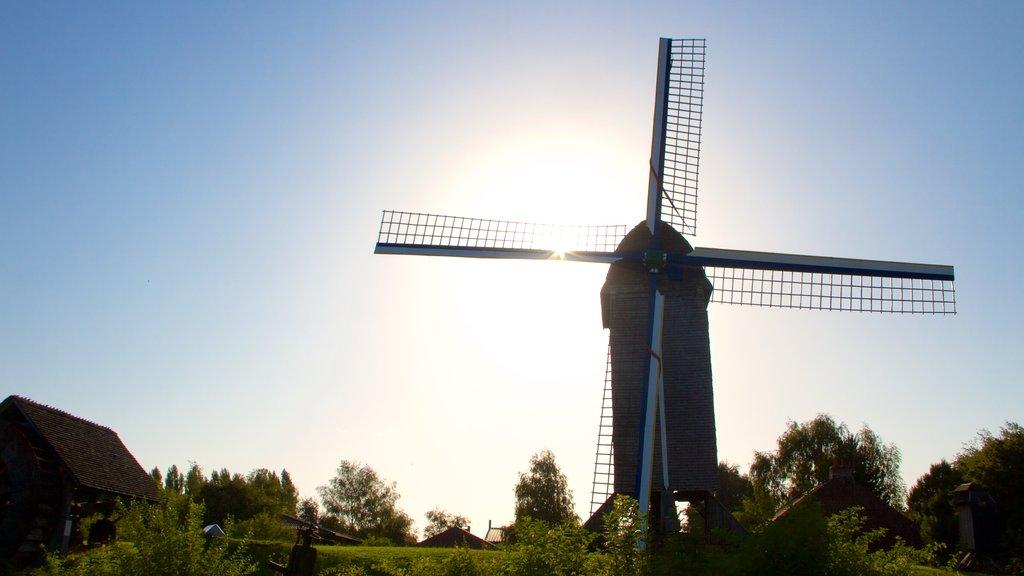 Villeneuve-d\'Ascq showing a windmill