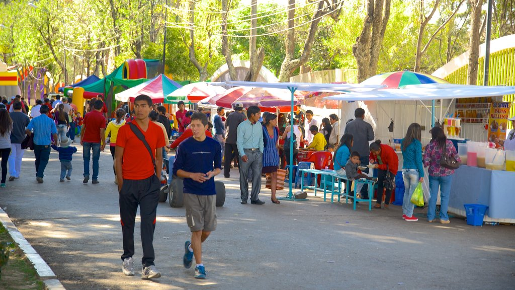Sucre showing markets as well as a large group of people
