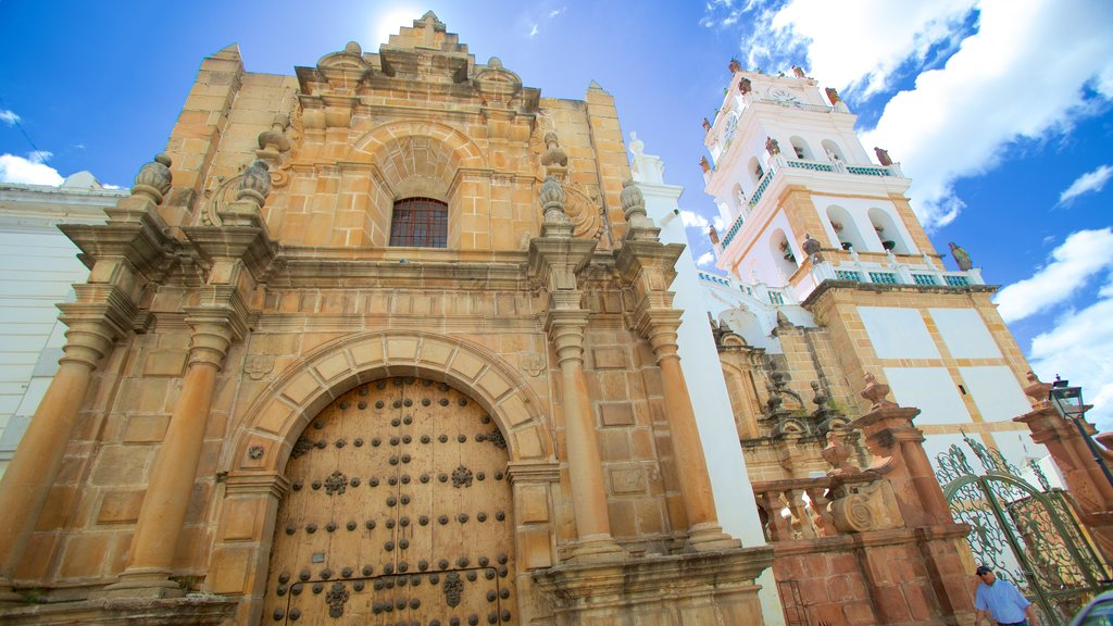 Sucre Cathedral which includes heritage architecture
