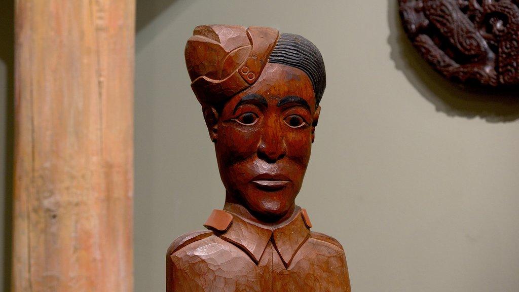 Canterbury Museum ofreciendo una estatua o escultura