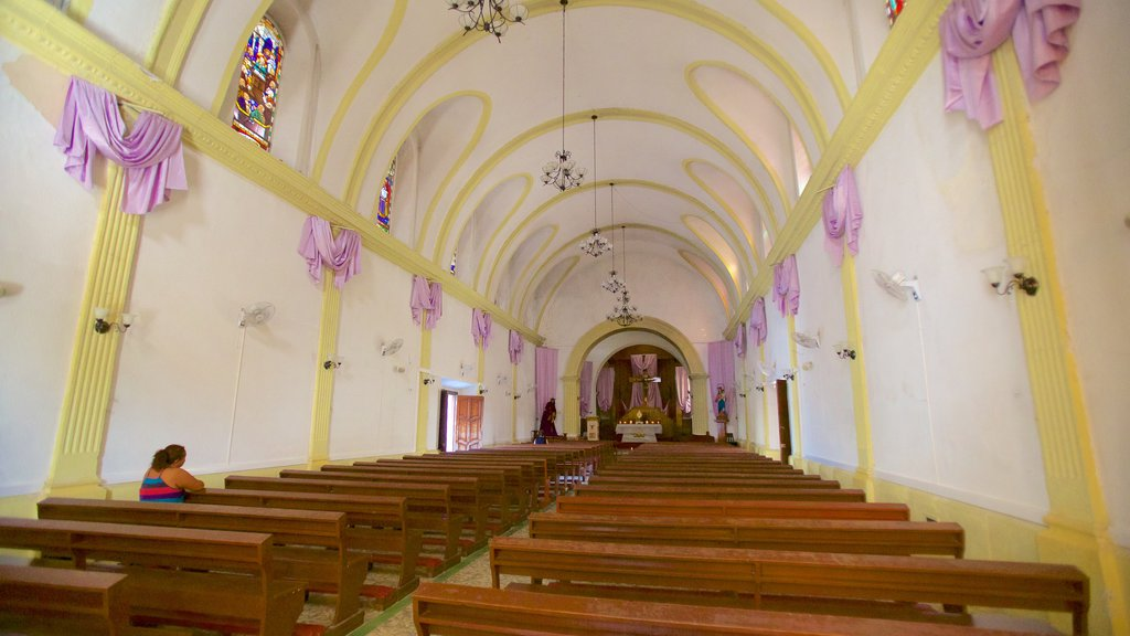 Cathedral of Flores which includes a church or cathedral and interior views