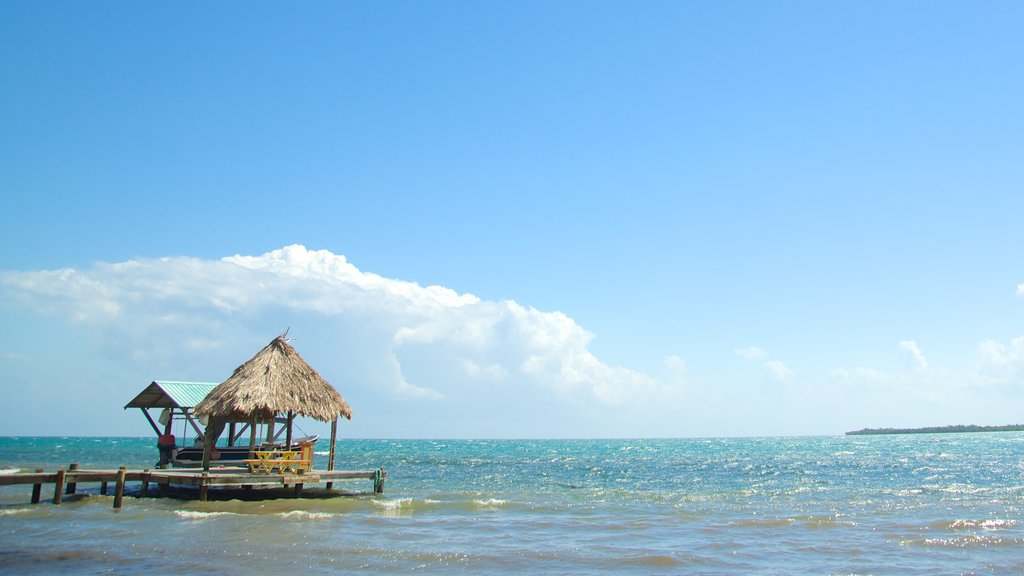 Maya Beach featuring tropical scenes and general coastal views