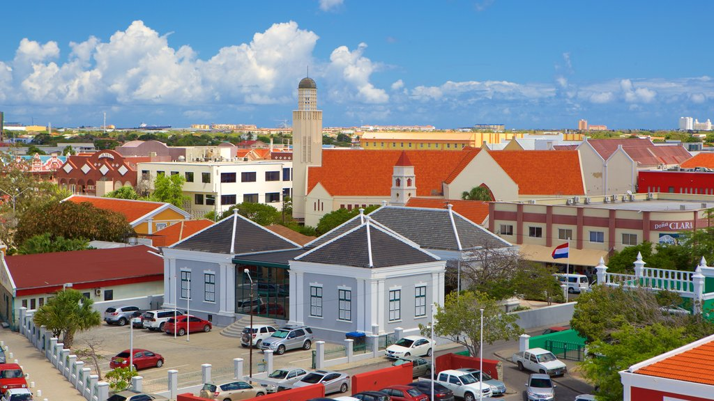 Oranjestad featuring a city