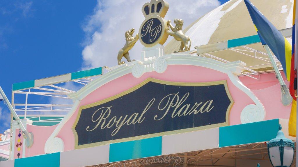 Oranjestad featuring signage