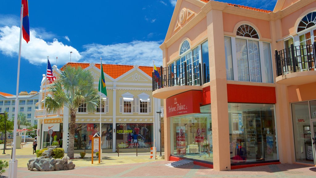 Oranjestad which includes city views