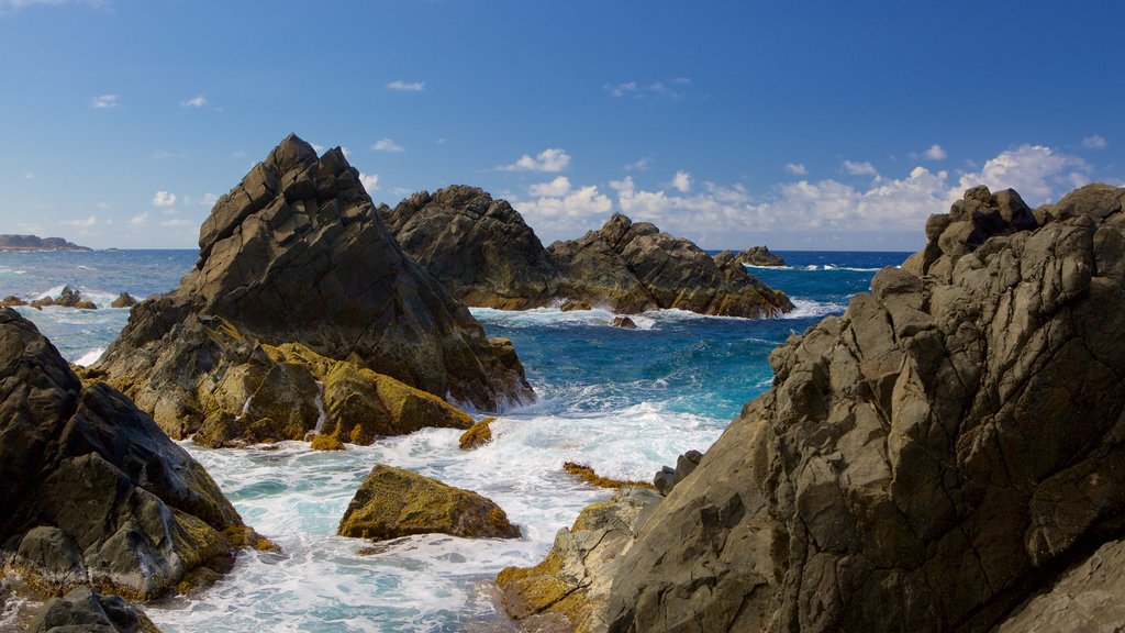 Conchi Natural Pool which includes general coastal views