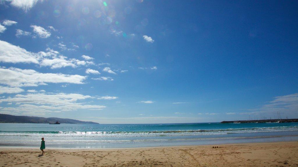 Apollo Bay featuring a sandy beach