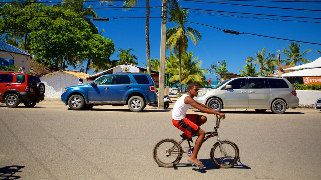 Puerto Plata featuring cycling as well as an individual male