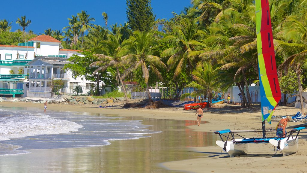 Puerto Plata which includes a beach