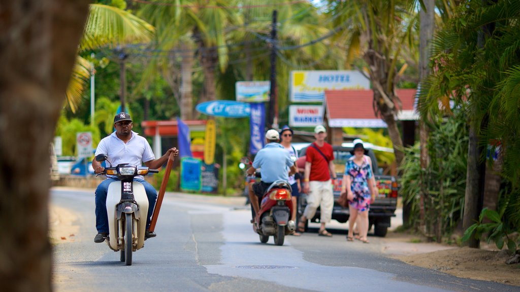 Las Terrenas which includes motorcycle riding