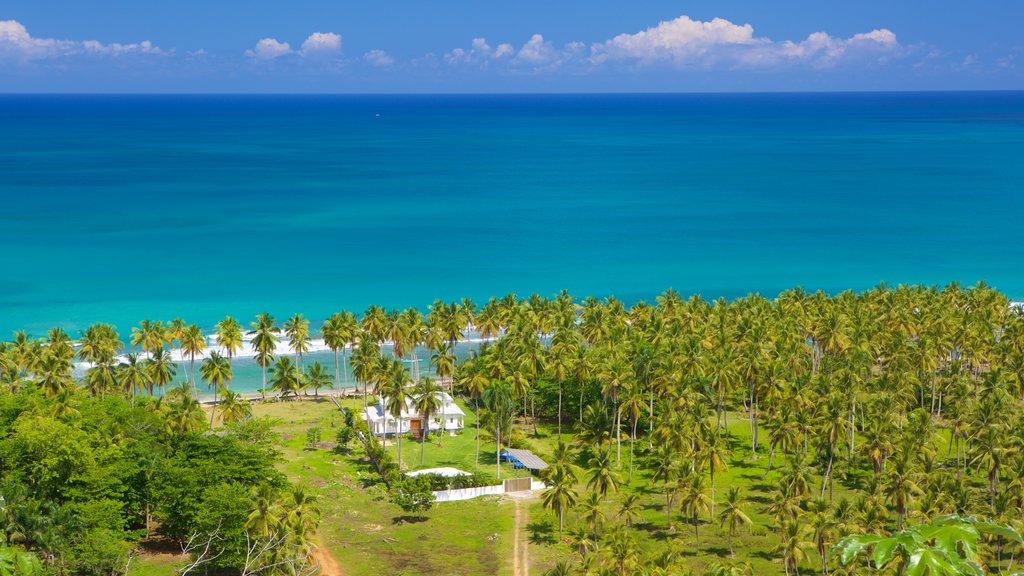 Samana showing general coastal views