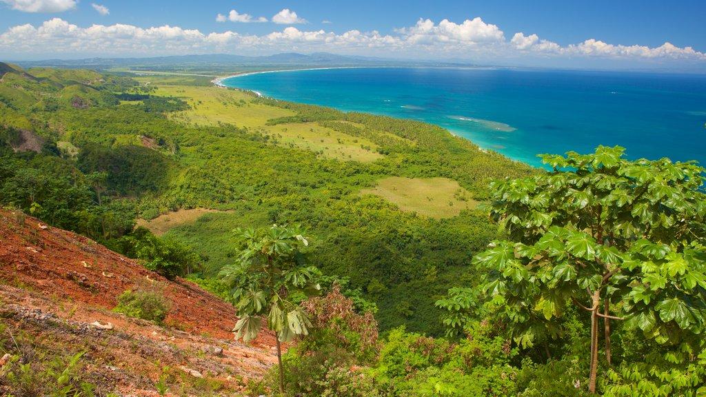 Samana featuring landscape views and general coastal views