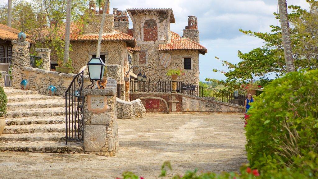 Altos de Chavon Village featuring a small town or village