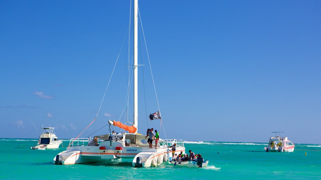 Cortecito Beach which includes sailing and general coastal views