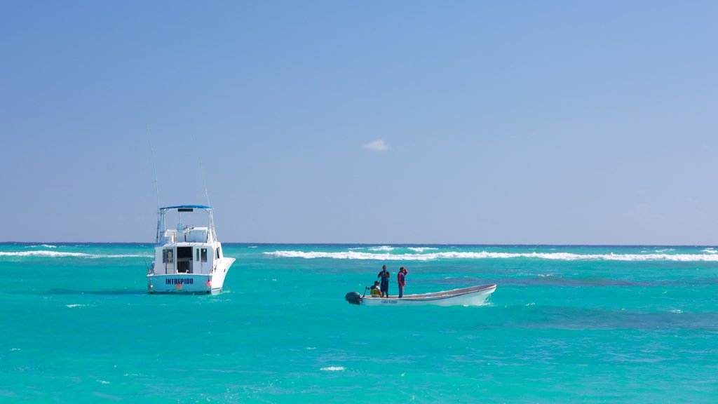 Cortecito Beach featuring general coastal views and boating