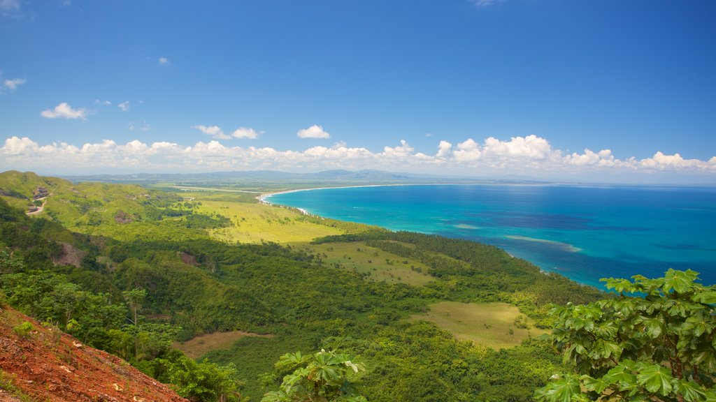 Las Terrenas showing landscape views and general coastal views