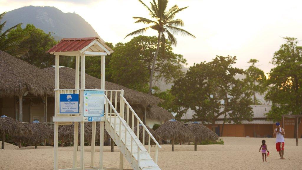 Playa Dorada which includes a sandy beach