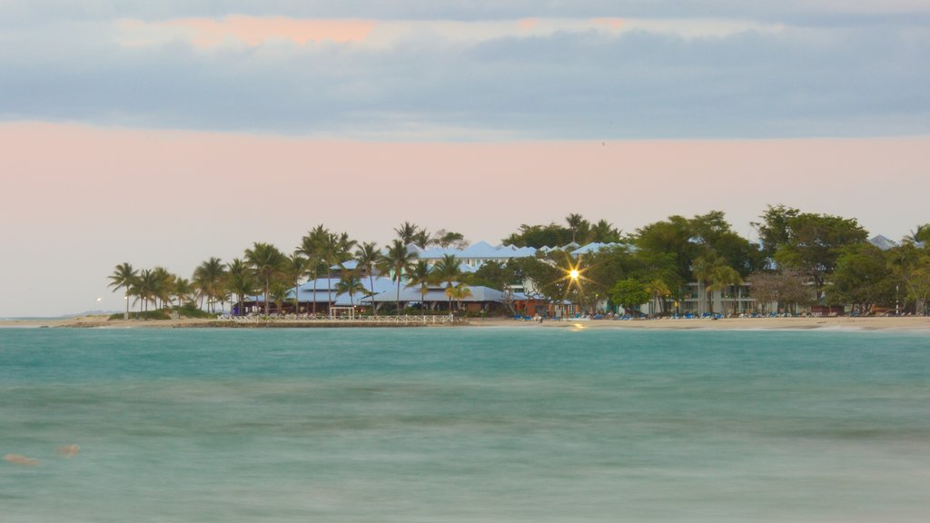 Playa Dorada which includes general coastal views