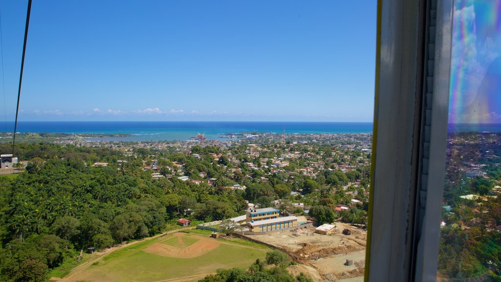 Puerto Plata Cable Car featuring general coastal views and a city