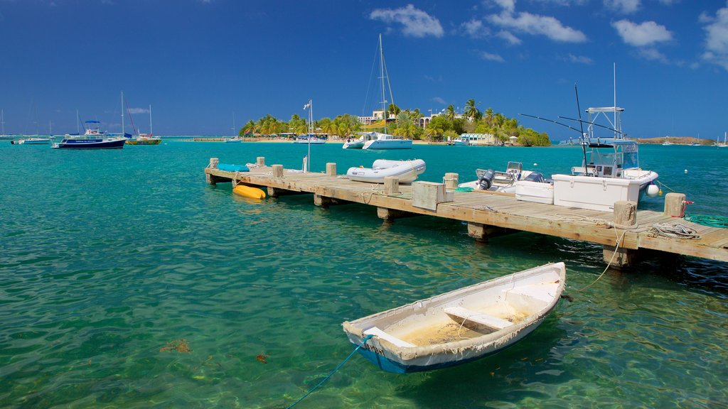 Christiansted featuring general coastal views