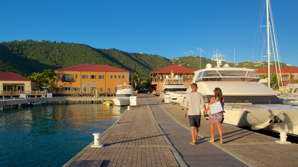 Charlotte Amalie featuring general coastal views as well as a couple