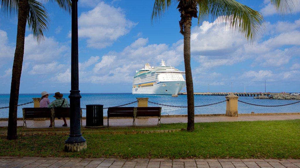 Frederiksted featuring cruising and general coastal views