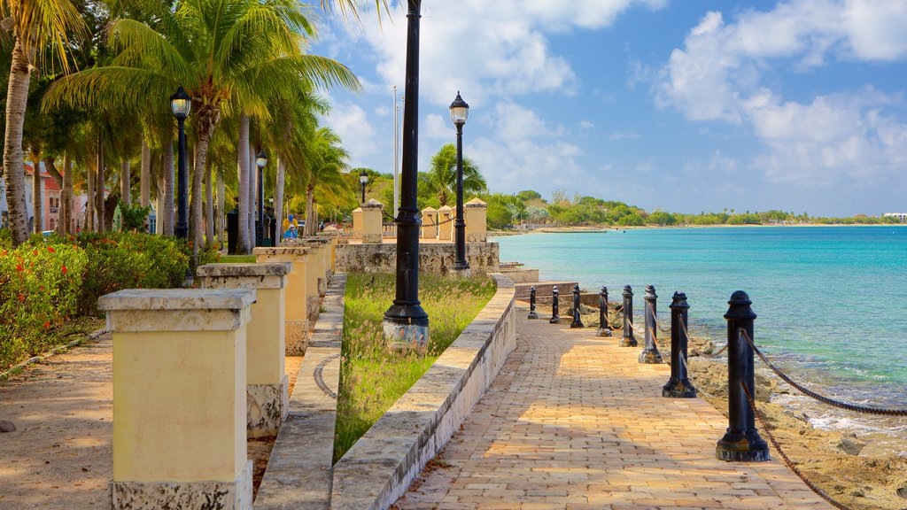 Frederiksted which includes general coastal views