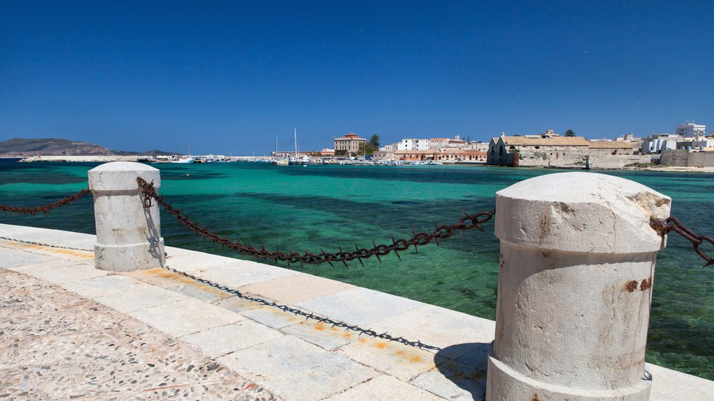 Favignana which includes general coastal views