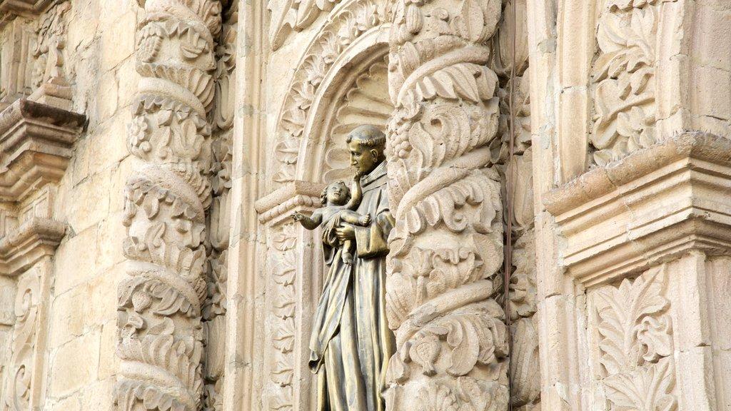 Iglesia de San Francisco que incluye una iglesia o catedral, patrimonio de arquitectura y elementos del patrimonio