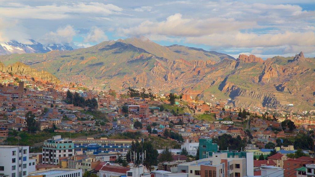 La Paz featuring a city and landscape views