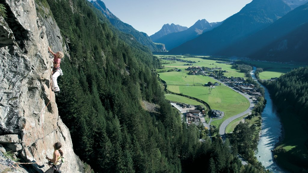 Austria which includes climbing, mountains and tranquil scenes