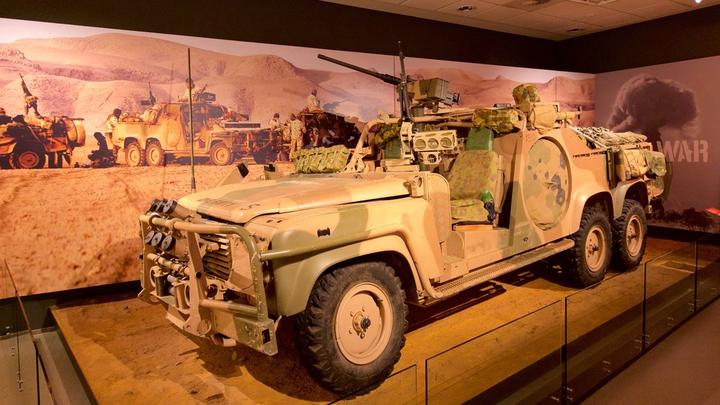 オーストラリア戦争記念館 どの含み 屋内の眺め