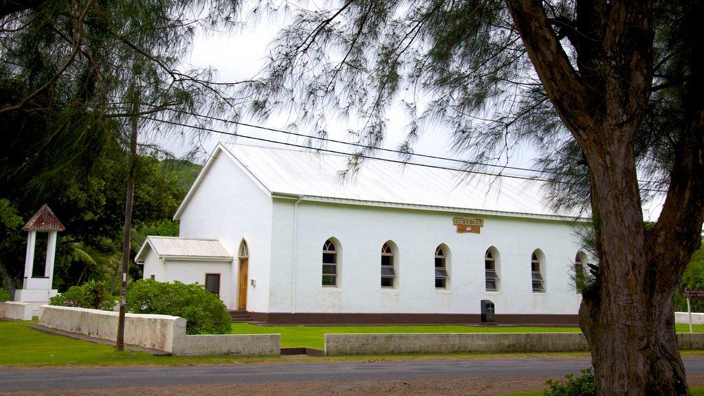 Ngatangiia mostrando una iglesia o catedral