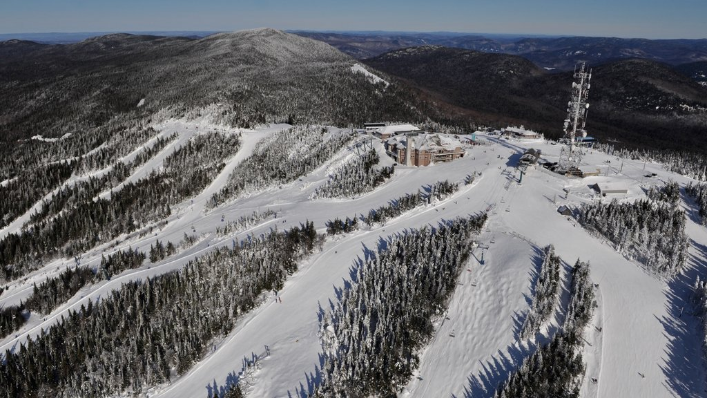 Mont-Tremblant Ski Resort featuring snow and landscape views