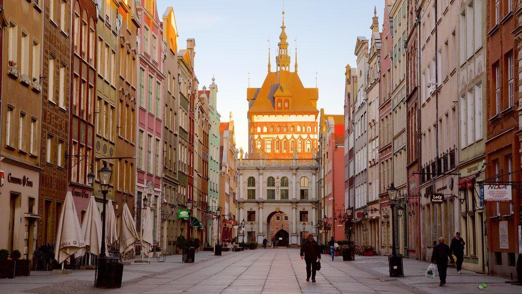 Gdansk mostrando escenas urbanas